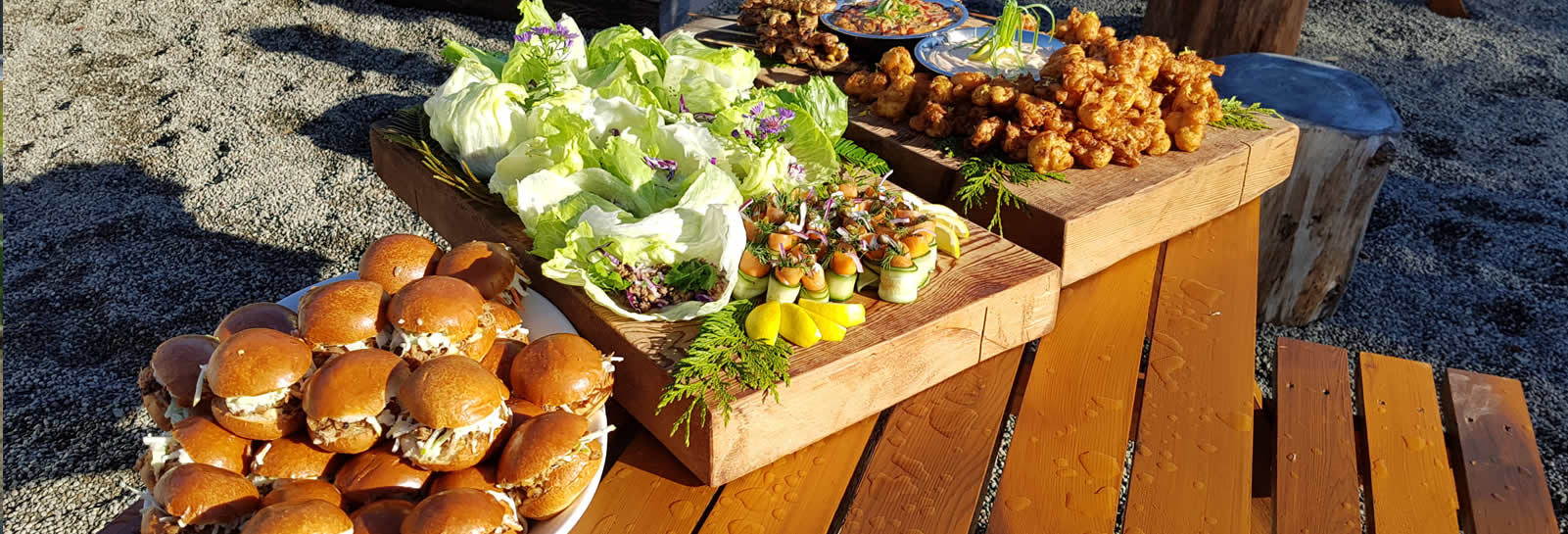 Catering Sliders & Salads